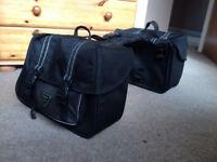 Triumph pannier bags