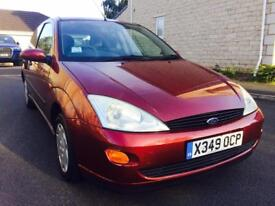 FORD FOCUS 1.4 ZETEC MOT HISTORY 1 OWNER TIMING BELT CLUTCH DONE CLEAN FOR AGE LONG MOT
