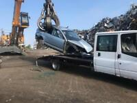 Scrap cars wanted top price payed
