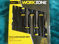 WorkZone File and Rasp Set