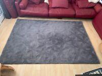 Grey 'Tekari' woollen floor rug from Made