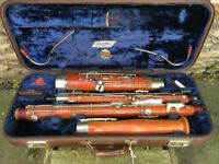 Bassoon: G.H. Hueller, Schoeneck. Rare Model, Good Condition, Beautiful Tone.