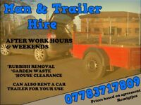 man and trailer hire