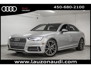 2017 Audi A4 2.0T PROGRESSIV S-LINE LED HEADLIGHTS