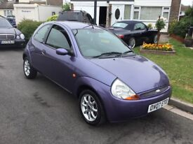 Ford ka 1.3 special edition style 2007 facelift model 3 door hatch mot Feb 2019 service history