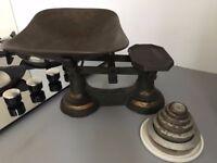 Lovely vintage kitchen scales