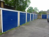 Lockup and leave garage in New Haw, Addlestone