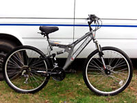 ADULTS FULL SUSPENSION DISC BRAKE MOUNTAIN BIKE VGC JUST BEEN SERVICED