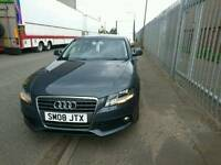 2008 Audi A4 SE TFSI, 80,000 miles. April 2017 MOT. 6 speed gearbox.