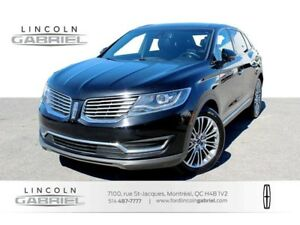2016 Lincoln MKX RESERVE+AWD+TOIT PANO+NAVI+CUIR+JAMAIS ACCIDENT