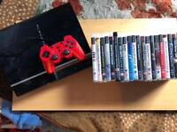 PLAYSTATION 3 PS3 CONSOLE 80GB WITH 20 GAMES (OPEN TO OFFERS)