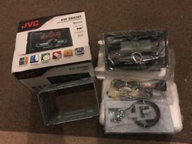 JVC dab double din DB92BT head unit brand new