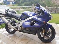 Fantastic condition ZX9R, just serviced with new tyres. perfect first big bike.