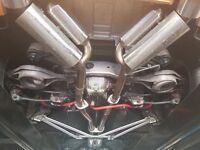 Nissan 350z Exhaust ARK replica true dual