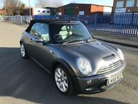 Mini s convertible 1.6 supercharged 6 speed