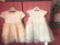 Two beautiful baby girl dresses
