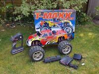 TRAXXAS T MAXX 3.3 NITRO TRUCK. BOXED