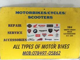 MOTORCYCLE REPAIRS AND SERVICE