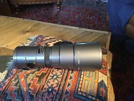 Sigma 400mm 5.6 autofocus lens Contax/ yashica fit