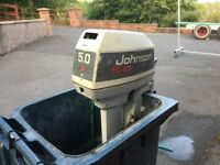 JOHNSTON 5 TWO STROKE OUTBOARD ENGINE