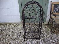 20 Bottle Wine Rack. Wrought steel