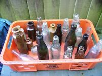 MIXED OLD BOTTLES