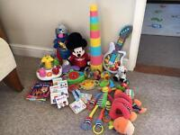 Large Bundle Joblot of baby kids toys