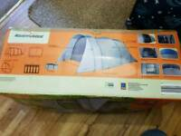 5 Man Tent With Awning Used Once so like New