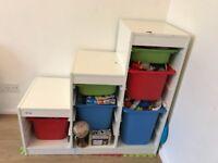 IKEA toy storage shelf