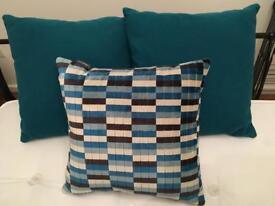 John Lewis nearly new cushions x 3