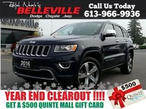2016 Jeep Grand Cherokee Limited-Sunroof-Remote Control Only $95