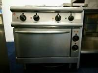Commercial kitchen electric Hob Oven, Fridge, Sink, Prep Table