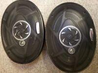Pioneer 6x9 Speakers 3-way