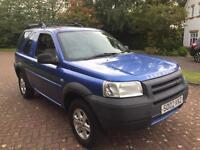 Low miles 78k 4wd Land Rover freelander 2ltr td4 gs
