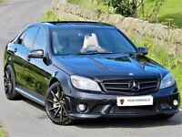 ★ABSOLUTELY STUNNING★(2010) MERCEDES C63 AMG ★ 6.3 4DR 7G TRONIC - 560 BHP - FULLY LOADED - FMSH★