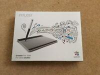 Wacom CTL-480 Intuos Pen Graphics Tablet - Black