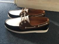 Zara boat shoes 2018 summer size 44 brand new