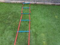 Fast feet ladders for football training