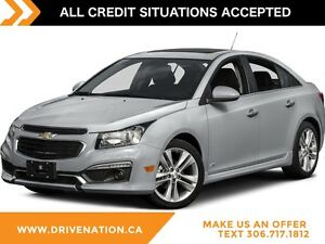 2016 Chevrolet Cruze Limited 1LT WARRANTY BLUETOOTH VIDEO SYSTEM