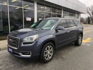 2013 GMC Acadia SLT1 Dual Sunroofs 19Wheels Leather