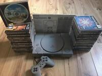 Ps1 - PlayStation 1 vgc + 25 games 1x official control + all cables
