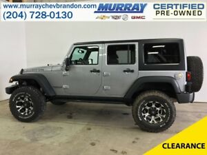 2016 Jeep WRANGLER UNLIMITED Rubicon 4WD Hard Top Convertible *N