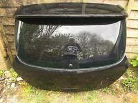 Vauxhall Corsa D VXR 07 Black Tailgate & Boot Spoiler