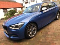 BMW F20 M135i Estoril Blue 2013 5 Door, Great Spec, New Brakes All Round and Performance Exhaust