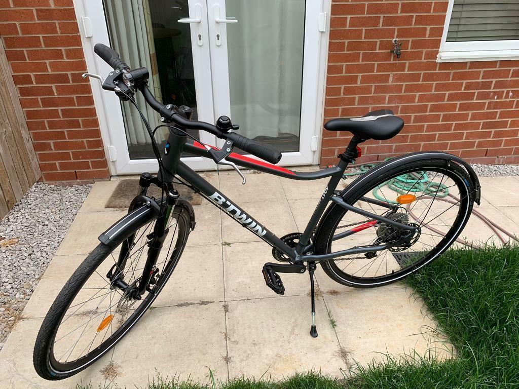 For Sale Used B-Twin Riverside 500 Hybrid Bike   in Middleton, Manchester    Gumtree