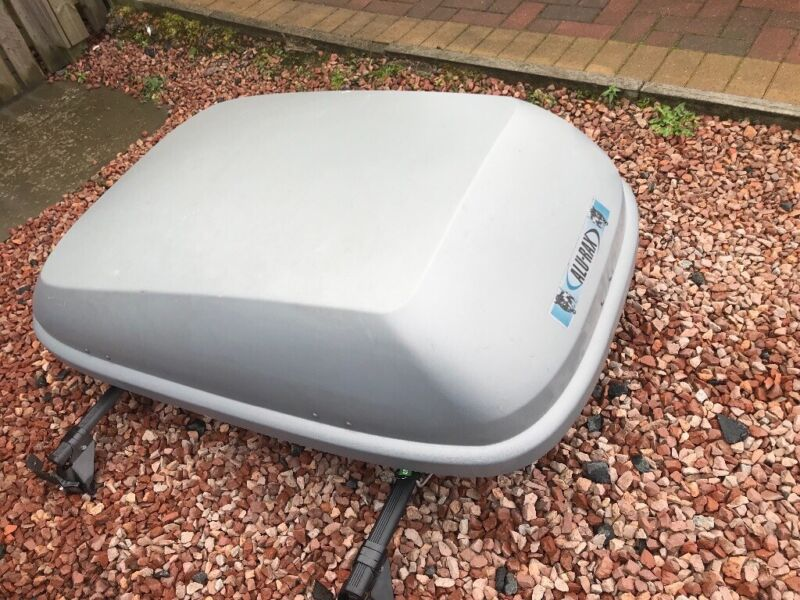 large roof box with roof bars for Renault grand scenic  for sale  Kelty, Fife