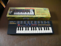 Casio tone Bank Keyboard.