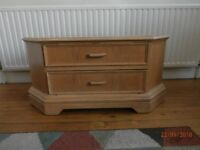TV unit solid pinewood