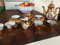 Bondware china tea set