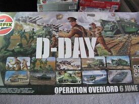Airfix D Day Landing (Operation Overlord) 6th June 1944 display kit